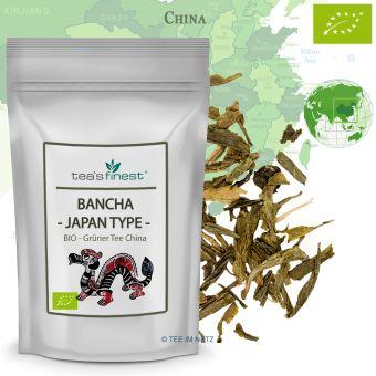 Grüner Tee Bancha - Japan Type - / BIO 100 Gramm
