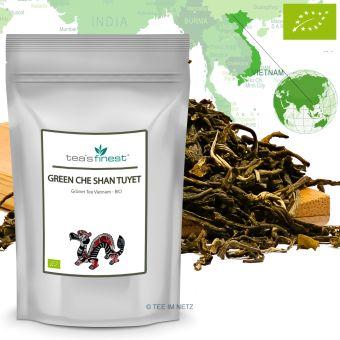 Grüner Tee Vietnam Green Che Shan Tuyet / BIO