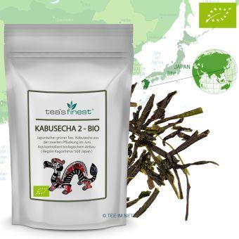 Grüner Tee Japan Kabusecha 2. Pflückung - BIO 500 Gramm