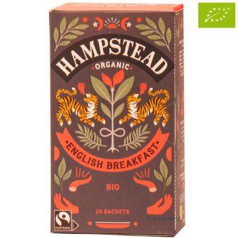 Hampstead Tee Organic English Breakfast Tea Teebeutel - BIO 20 x 2.0 g