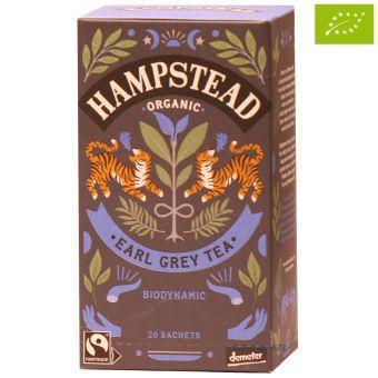 Hampstead Tee Organic Earl Grey Tea / Teebeutel - BIO 20 x 2.0 g