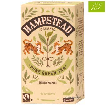 Hampstead Tea Pure Green im Teebeutel / BIO 20 x 2.0 g
