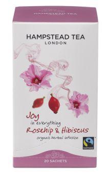 Hampstead Tee Joy in everything Rosehip & Hibiskus - BIO 20 x 1.5 g