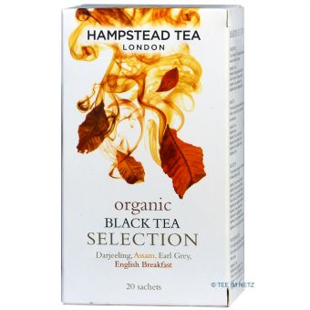 Organic Black Tea Selection im Teebeutel / Hampstead - BIO 20 x 1.5 g