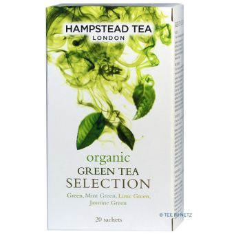 Organic Green Tea Selection im Teebeutel / Hampstead  - BIO 20 x 1.5 g
