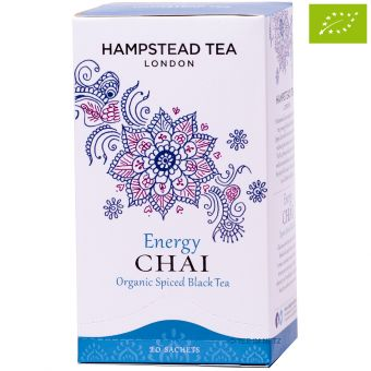 Energy Chai Organic Spiced Black Tea / Hampstead Tea - BIO 20 x 2 g