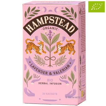 Hampstead Tea Meditate your spirit Lavender & Valerian  -BIO 20 x 1 g