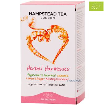Hampstead Tea Herbal Harmonies - BIO 20 x 1.4 g