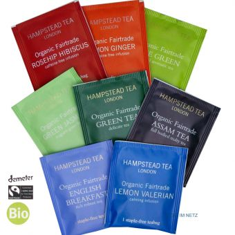 Hampstead Tea BIO Probierset No. 1 - BIO 8 x 2g