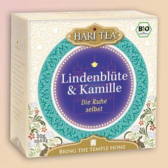 HARI TEA Lindenblüte & Kamille - Die Ruhe selbst / BIO 10 x 2 g