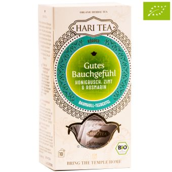 HARI TEA Honigbusch & Zimt - Gutes Bauchgefühl / BIO 10 x 2 g