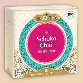 HARI TEA Schoko Chai Für die Liebe / BIO 10 x 2 g