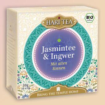 HARI TEA Jasmintee & Ingwer Mit allen Sinnen / BIO 10 x 2 g