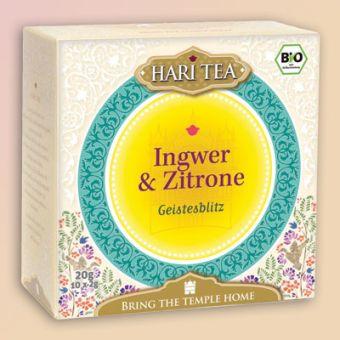 HARI TEA Ingwer & Zitrone Geistesblitz / BIO 10 x 2 g