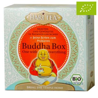 HARI TEA Buddha Box - BIO 11 x 2 g