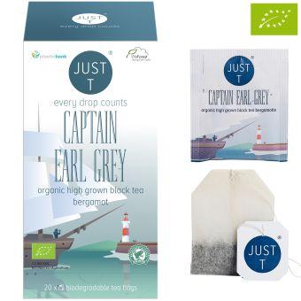 JUST T® CAPTAIN EARL GREY / BIO 20x 1.75 g