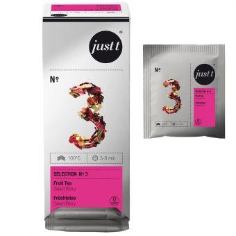 just t® N°.3 Früchtetee Sweet Berry 25 x 2.0 g