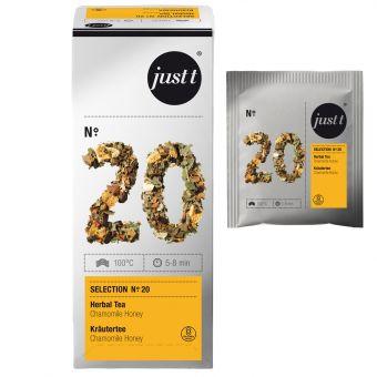 just t® N°.20 Kräutertee Chamomile & Honey (Kamille & Honig) 25 x 2.0 g