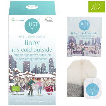 JUST T® Baby it´s cold outside (Schwarztee Orange-Zimt) /BIO 20 x 1.75 g