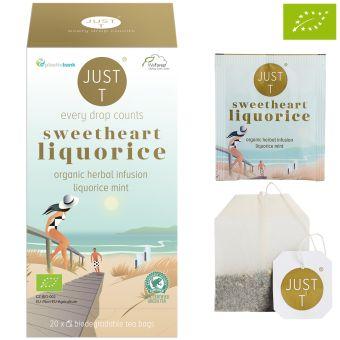 JUST T® sweetheart liquorice / BIO 20 x 2,0 g