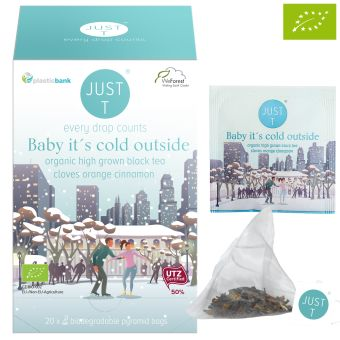 JUST T® Baby it´s cold outside - BIO / Pyramidenbeutel 20  x 2 g