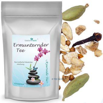 Ayurvedischer Kräutertee Ermunternder Tee 100 Gramm