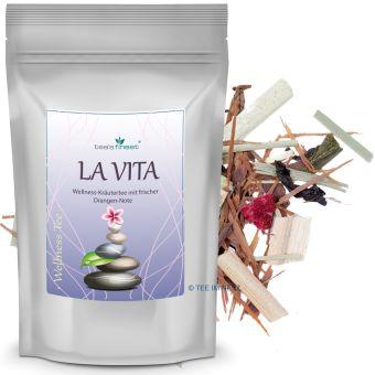 Wellness-Kräutertee La Vita (Lapacho / Sencha) 250 Gramm