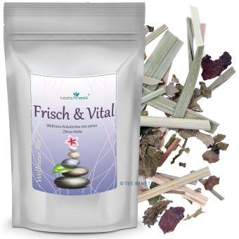 Wellness-Kräutertee Frisch & Vital (Mate/Brennnessel) 500 Gramm