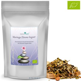 Moringa Zitrone-Ingwer / BIO