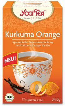 YOGI TEE Kurkuma Orange / BIO 17 x 2.0 g