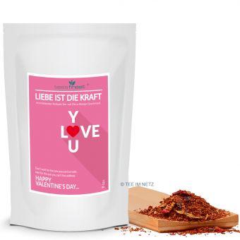 Valentinstag Tee - Liebe ist die Kraft 100 Gramm
