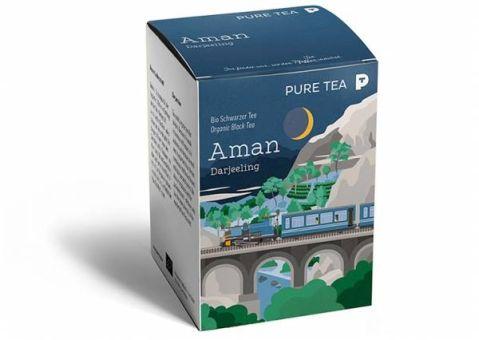PURE TEA Darjeeling Aman / BIO 15 x 3.0 g