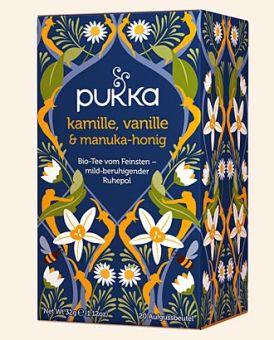 pukka Kamille, Vanille & Manuka-Honig - BIO 20 x 1.6 g