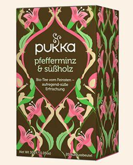 pukka pfefferminz und süßholz - BIO 20 x 1.5g