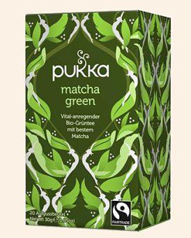 pukka matcha green (Grüntee mit Matcha) - BIO 20 x 1,5 g