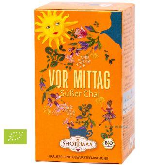Shoti Maa Sonnengruß-Tee Vor Mittag Süßer Chai - BIO 16 x 2.0 g