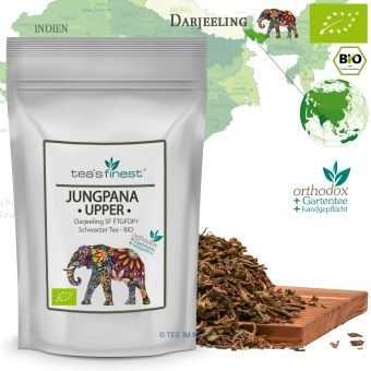 Schwarzer Tee Darjeeling Jungpana Upper SF FTGFOP1 / BIO