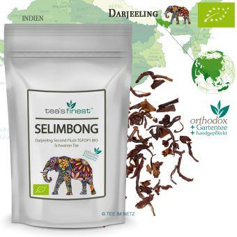 Schwarzer Tee Darjeeling Selimbong TGFOP1 / BIO 100 Gramm