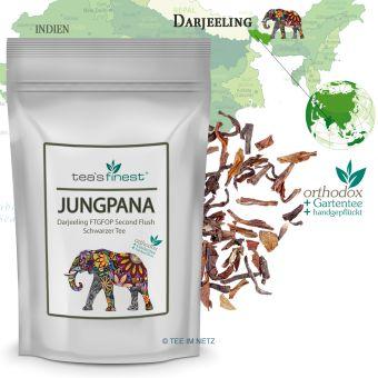 Schwarzer Tee Darjeeling Jungpana FTGFOP Second Flush