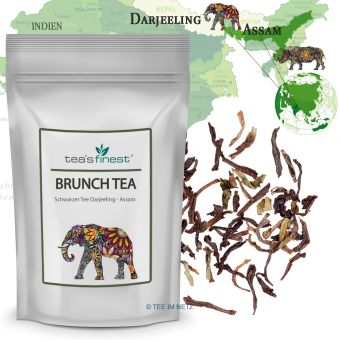 Schwarzer Tee Brunch Tea (Darjeeling/Assam)