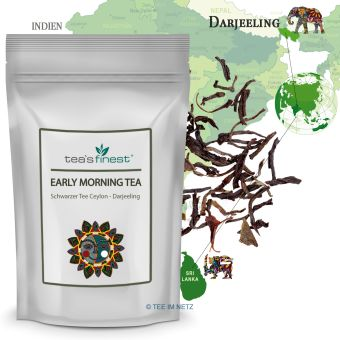 Schwarzer Tee Early Morning Tea (Ceylon-/Darjeeling) 250 Gramm