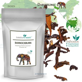 Schwarzer Tee Darjeeling Bannockburn FTGFOP1 Autumnal