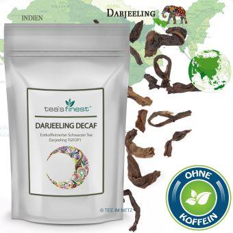 Schwarzer Tee Darjeeling TGFOP1 (entkoffeiniert)