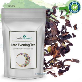 Schwarzer Tee Late Evening Tea (entkoffeiniert)