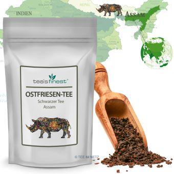 Schwarzer Tee Assam Ostfriesen-Tee