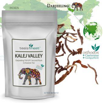 Schwarzer Tee Darjeeling Kalej Valley TGFOP1 Second Flush