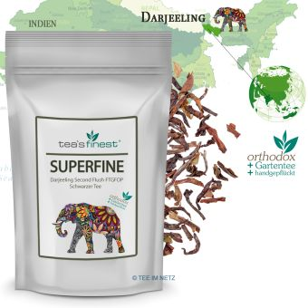 Schwarzer Tee Darjeeling Superfine FTGFOP Second Flush