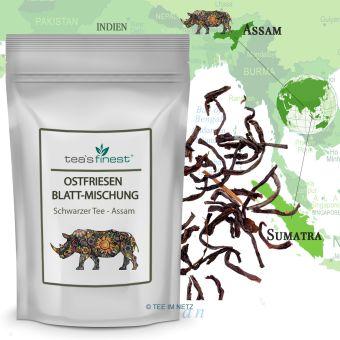 Schwarzer Tee Ostfriesen Blatt-Mischung 250 Gramm