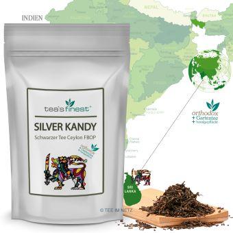 Schwarzer Tee Silver Kandy Ceylon FBOP