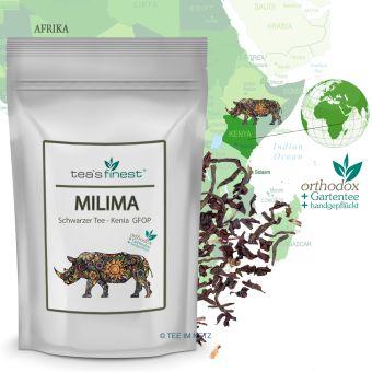 Schwarzer Tee Kenya Milima GFOP 100 Gramm